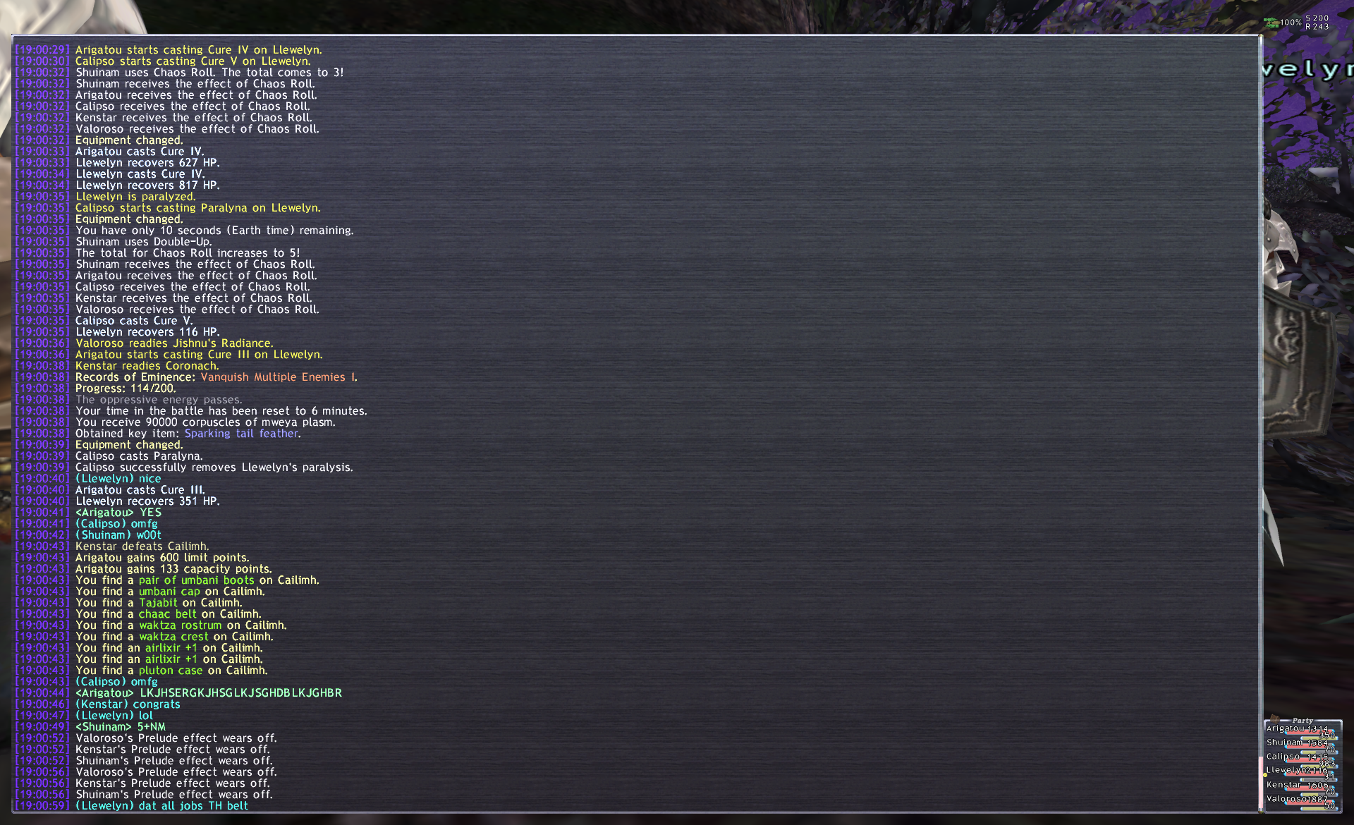 doofus ffxi atleast blinding thats what before said someone theres discussion magic multiplier damage delve