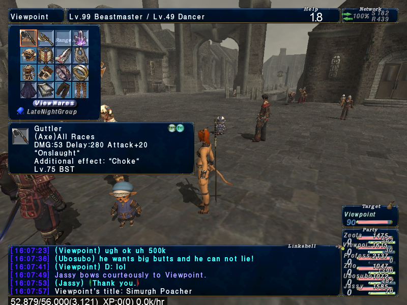 darkepyon ffxi doing this that comes love down proph also caliburn grats tool shame like prophett moirai leviathan list relicmythic weapons seems completed known time long forever