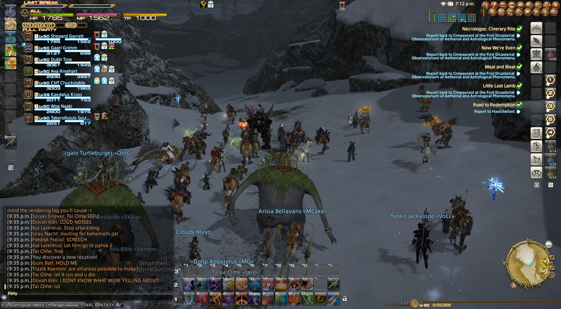 shepardg ffxiv queue matter high realization letting that bullshit anyone number does waves random your points dont made everything fates where weve been queues odinbehemoth have large during come