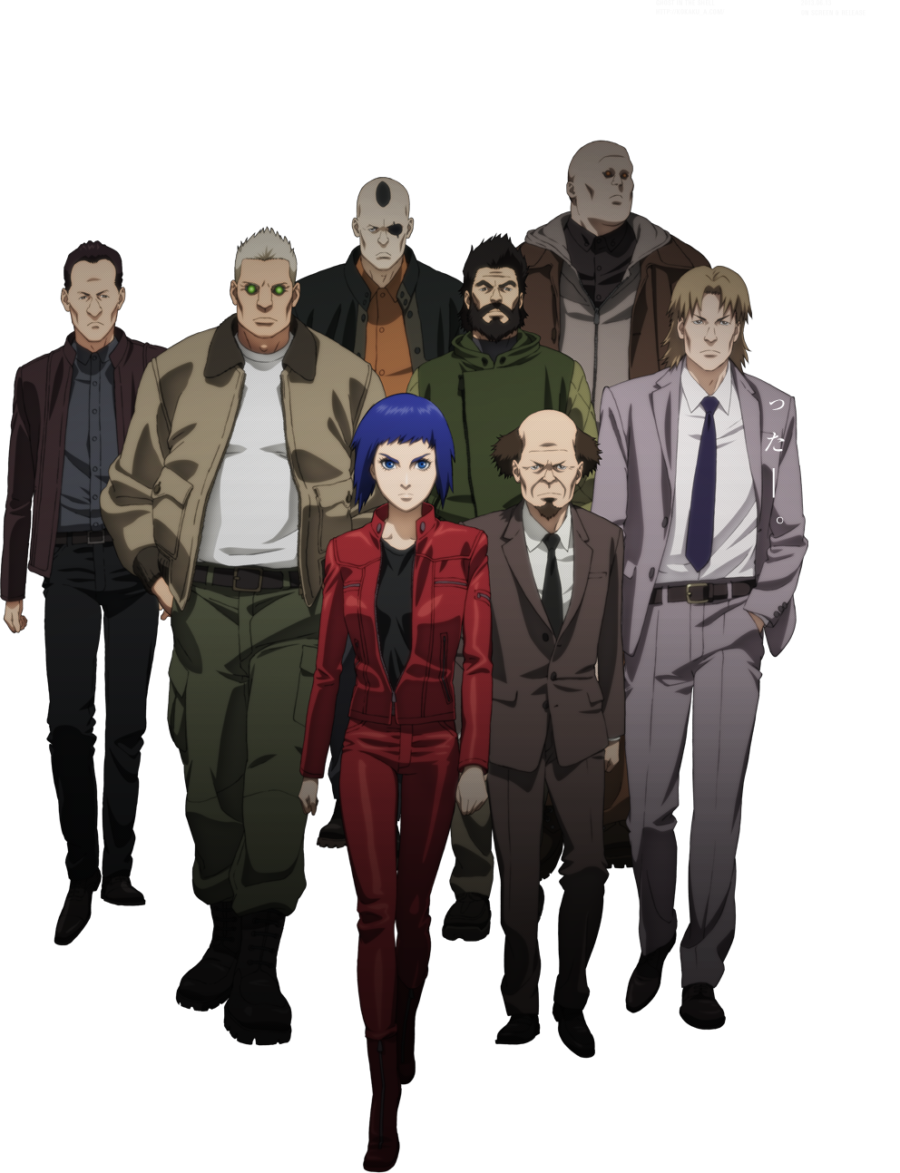 insanecyclone anime best could motoko still though style shirow version some alone 2013 arise shell yeah stand ghost redesign complex