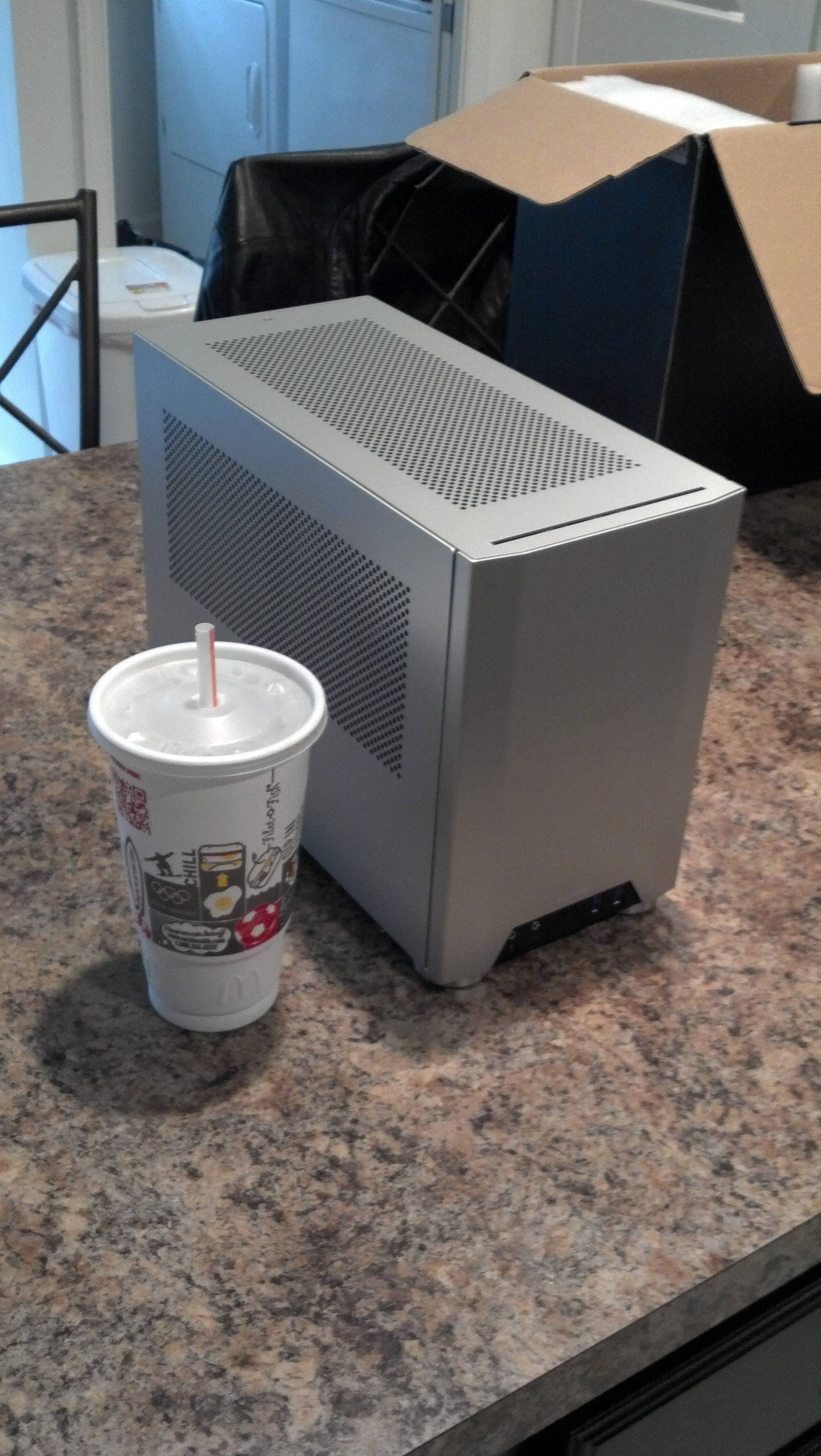 arkanna tech prototype right ncase theyve coming collected almost when pretty awesome stuff goal campaign their original cases this because reaching bumping case perfect mini-itx stage lian creators first provided indiegogo
