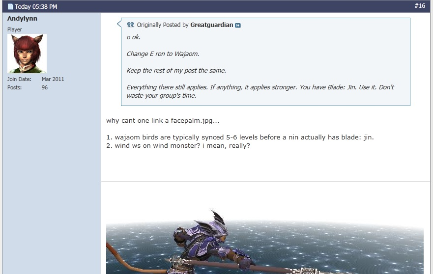 greatguardian ffxi abyssea balance crit honestly atma apply make level edition official forums buff clear letting compete