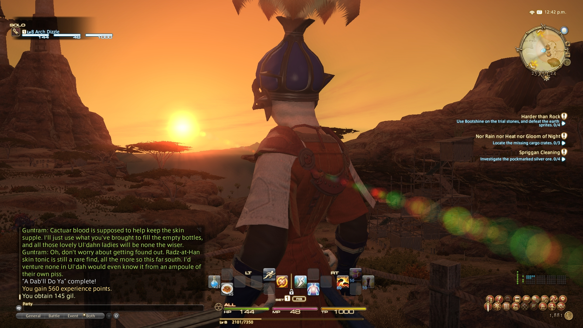 archdizzle ffxiv limsa through tonight well screenshots lifted phase beta