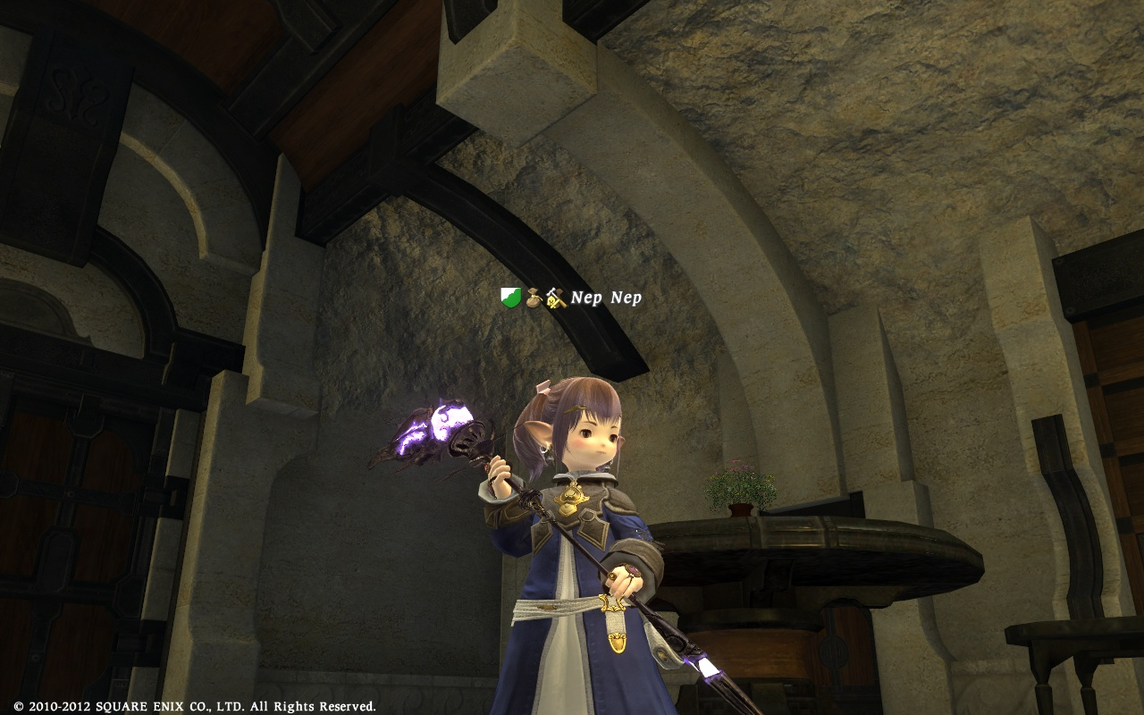 nep  over thread relic weapon completed