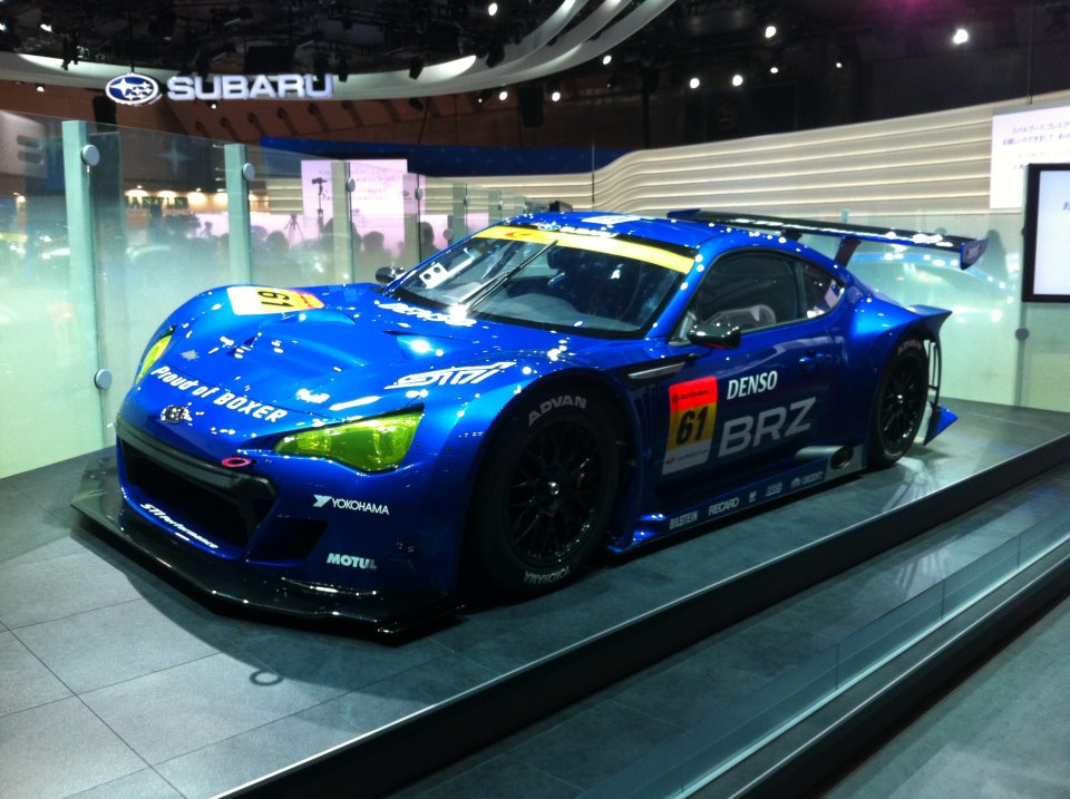 omniyoji general salon auto official picture teased subaru fr-s toyota many version scion kouki like
