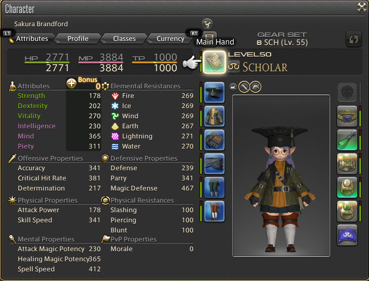 ratatapa ffxiv your damage base 15x multiplies across think they were because that trying point increase determination does arcanist thread power goes wins more crit powerful