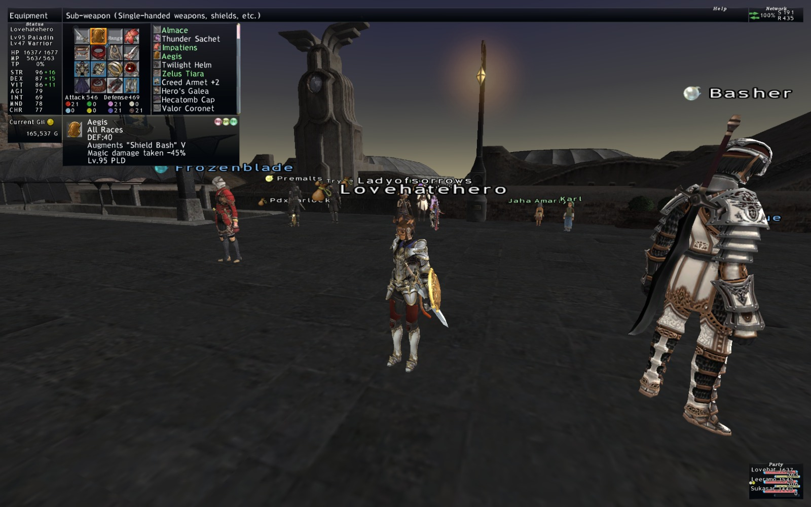 lovehatehero ffxi doing this that comes love down proph also caliburn grats tool shame like prophett moirai leviathan list relicmythic weapons seems completed known time long forever