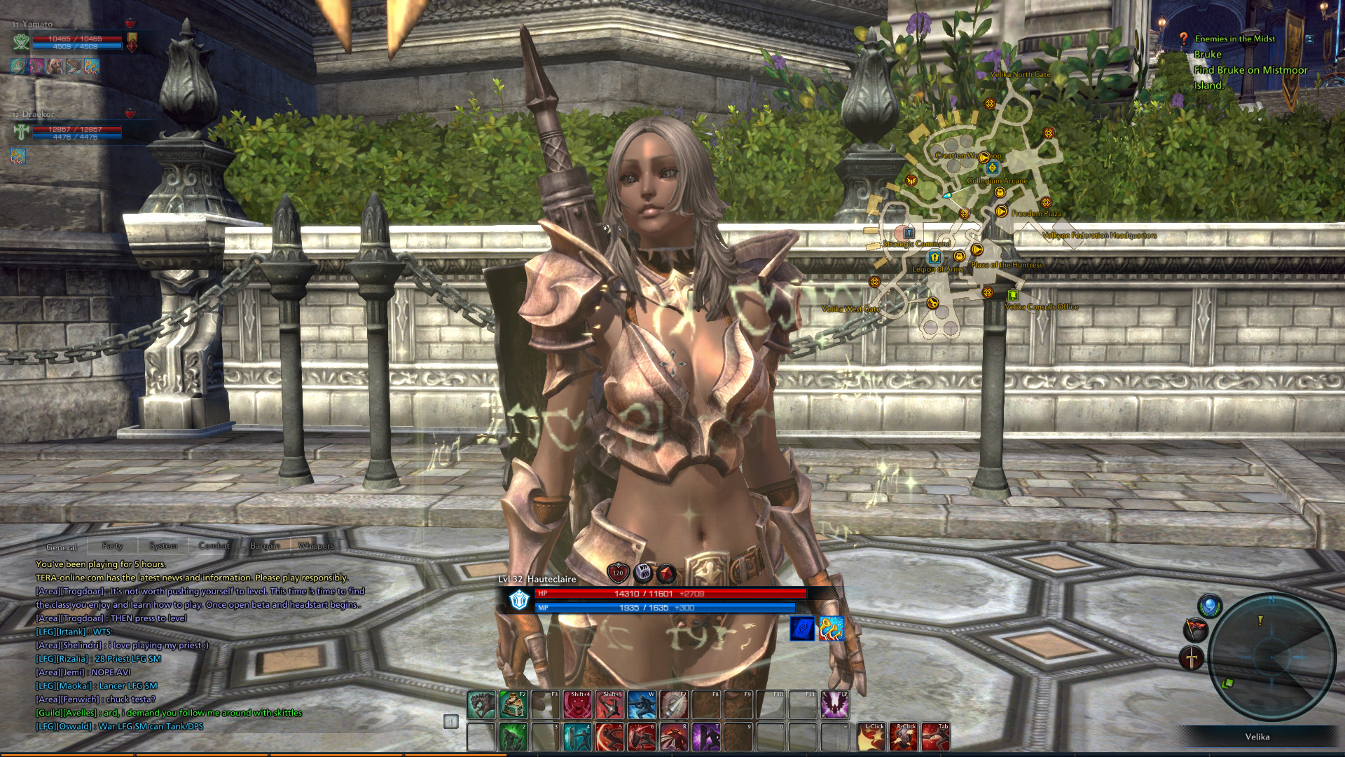 kitha games opening gameplay trailer experience preview online media removed heres tera
