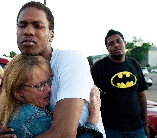 thetruepandagod  shot hell pistol work good duress under colorado premiere batman dead shooting custody wounded feet
