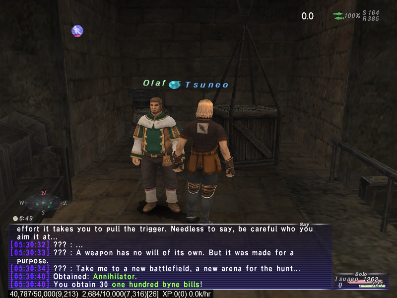 tsuneo ffxi doing this that comes love down proph also caliburn grats tool shame like prophett moirai leviathan list relicmythic weapons seems completed known time long forever