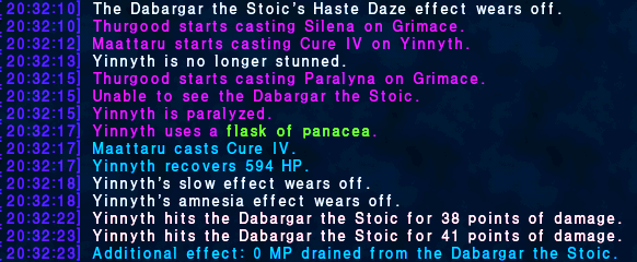 yinnyth ffxi amnesia panacea just some panaceas removed test gurfurlurs really theres effect slow time different there jack here possibilities only does tiers exactly wear happened coincidence that same someones willing cant none drop 100k interested results very myself likely most enough chance remove doom waters holy like weak high every giving