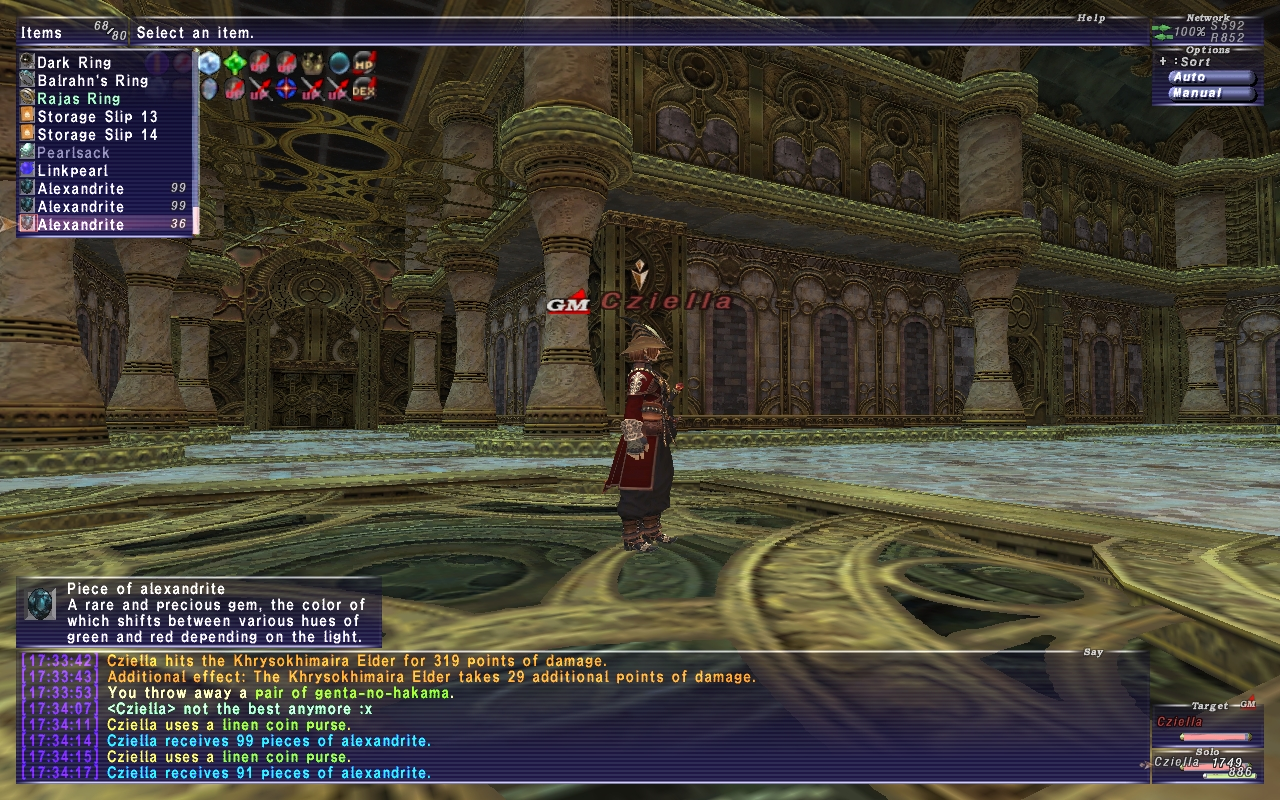 seol ffxi slot that anything already rolled what have affects discussion salvage getting just youll piece second solo