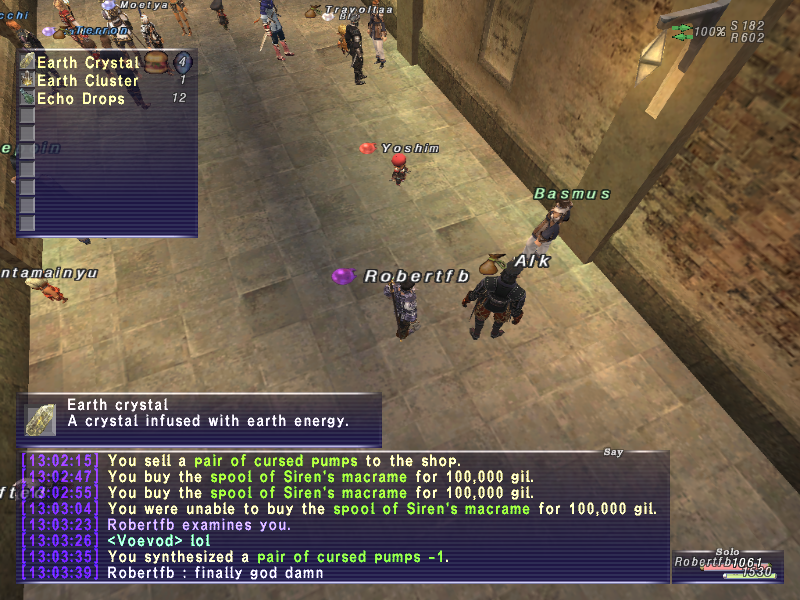 robertfb ffxi very time long first zouri crafts accidently forum crafting whole amazing
