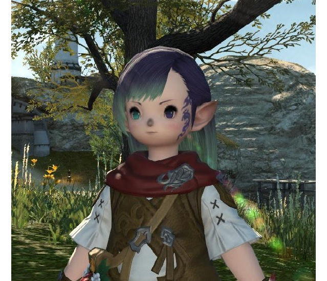 buffy ffxiv this hair ffxi character like color what green more help pinkish look akin cause laughing stop cannot eyesmouth expression website official best here found also actually match recreating grown accustomed quite personally pictures your benchmark going heres style just char post slightly darker edit2 pinkredish