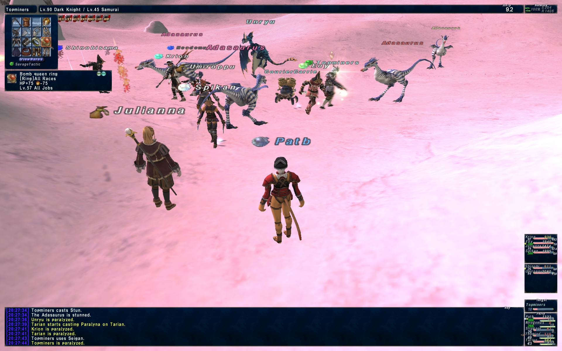 patb ffxi gear lv78 wear stand cares leech dolls xxii thread literally player make pics renzys gimpleeches long taking shots screen point fast killing presuming lv90s contribute mobs gonna vtit listed mooch damage contribution tier this play gimpconfusedwtf contributions