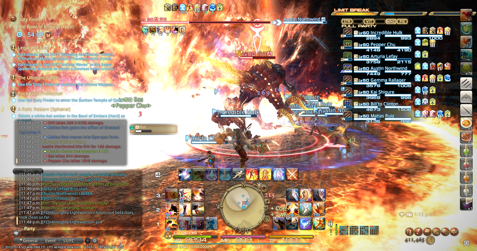 omnipotent ffxiv scaling them hurts down bucket size file need bigger 1920 stupid reborn screenshot thread realm fantasy 1017 somewhat less with release final