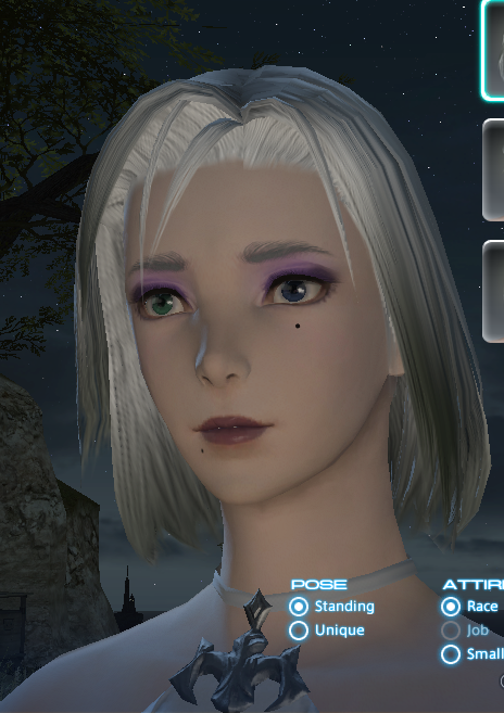mrbeansman ffxiv this hair ffxi character like color what green more help pinkish look akin cause laughing stop cannot eyesmouth expression website official best here found also actually match recreating grown accustomed quite personally pictures your benchmark going heres style just char post slightly darker edit2 pinkredish