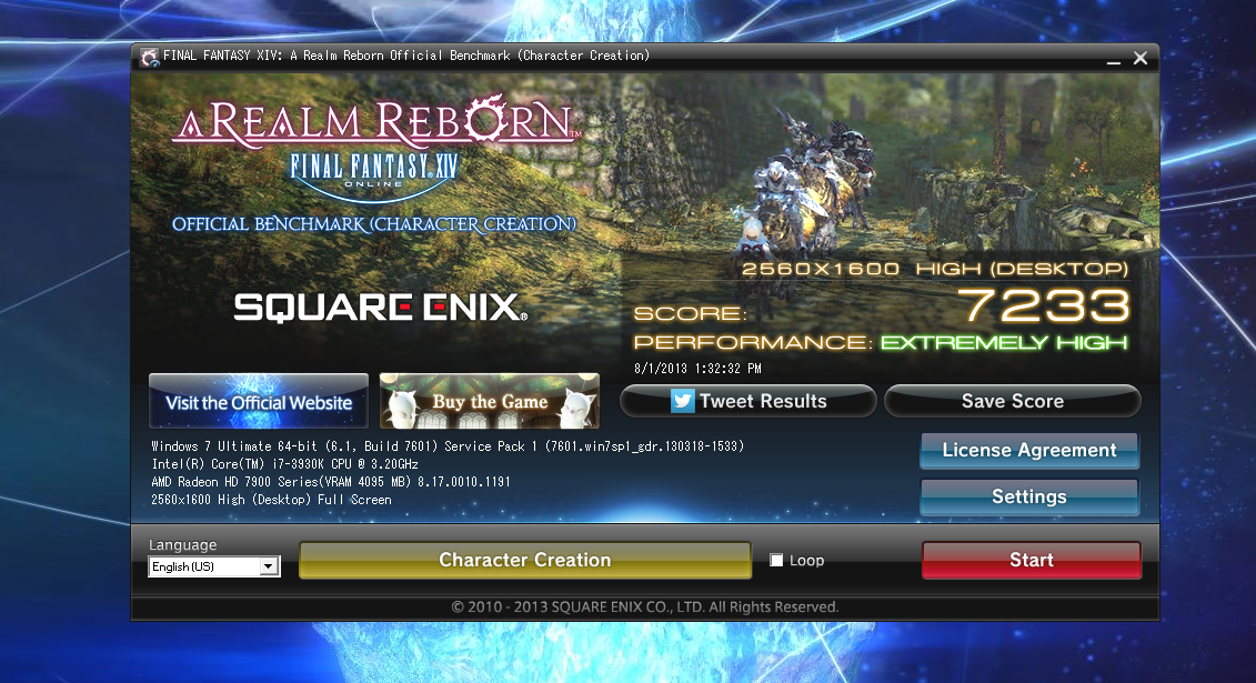 bluefan ffxiv looks better lv30 than voice hair choices rip lv20 gear creation character scores benchmark lv40 with