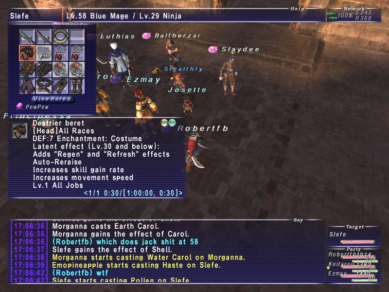 robertfb ffxi gear lv78 wear stand cares leech dolls xxii thread literally player make pics renzys gimpleeches long taking shots screen point fast killing presuming lv90s contribute mobs gonna vtit listed mooch damage contribution tier this play gimpconfusedwtf contributions