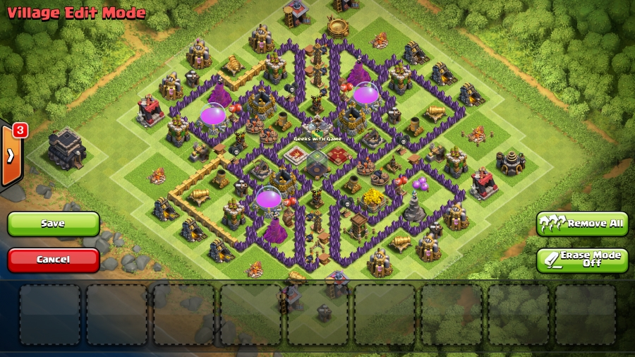 Appreciate it here is what my bases look like currently early th9