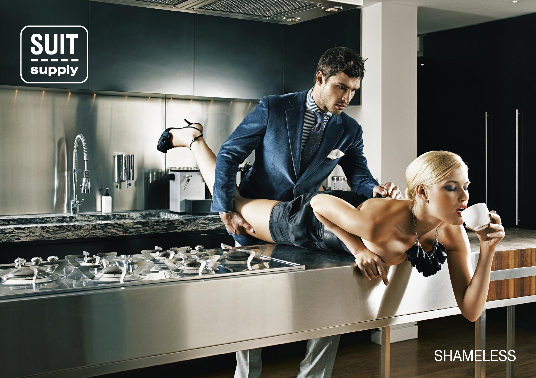 На рабочем столе секс