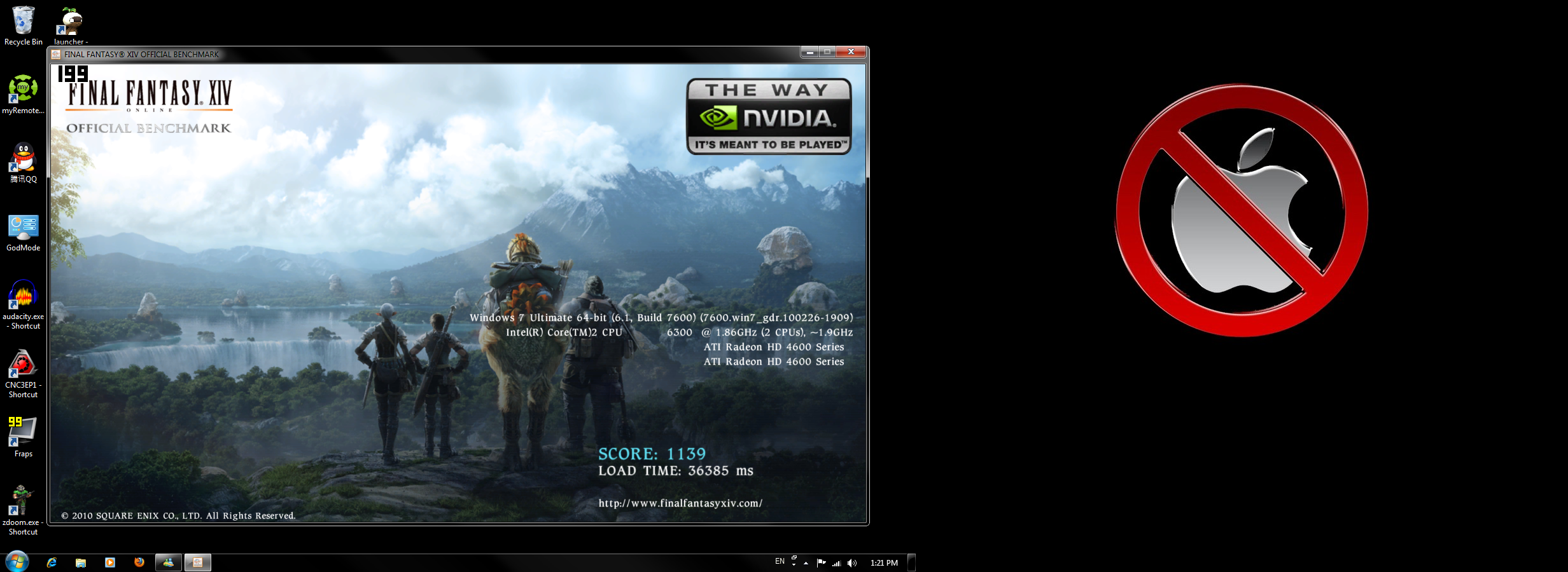 egon ffxiv benchmark fullscreen high errors runtime performance thread beta official 1090t single card 5850 41ghz