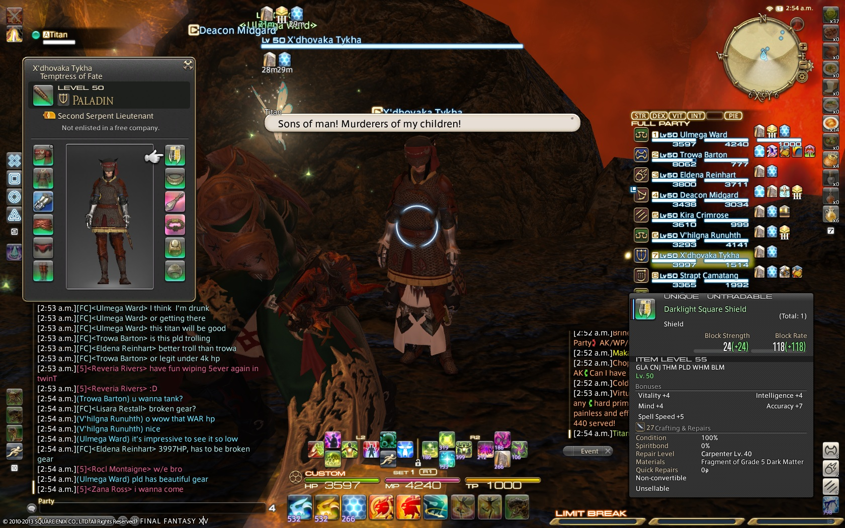 elcura ffxiv they duty that fail right unless enter away going gear chests some months raid when until anyway month feel like doesnt argument type replace still every give fucking time likely youre have which much since just been even released major something i340 hasnt this weight changes early into last tier