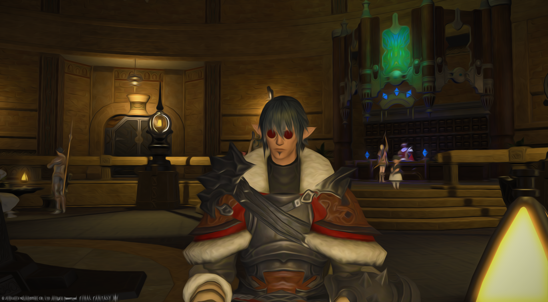 null ffxiv limsa through tonight well screenshots lifted phase beta
