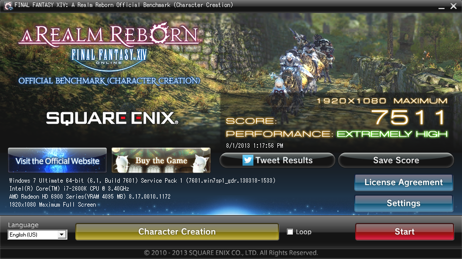 deuce ffxiv looks better lv30 than voice hair choices rip lv20 gear creation character scores benchmark lv40 with