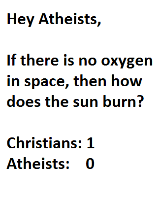 galkaeater  this theres atheists checkmate
