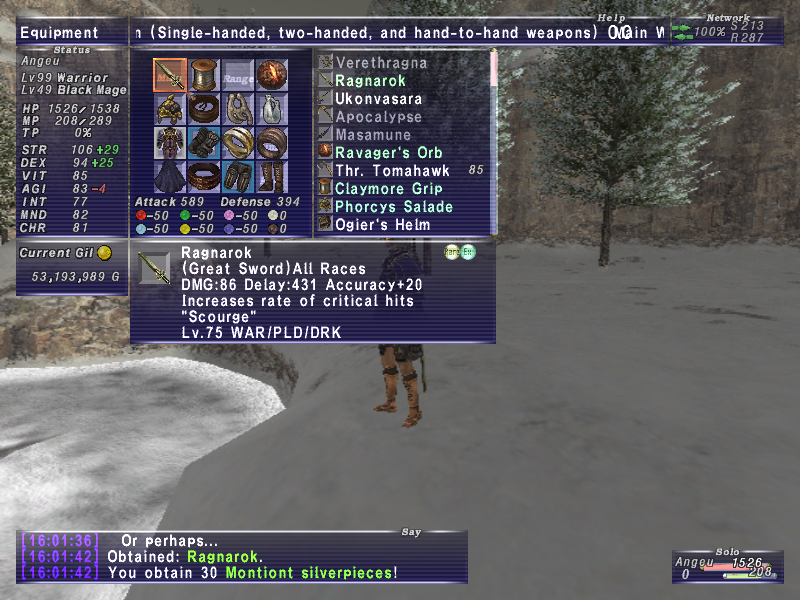 xwhisp ffxi doing this that comes love down proph also caliburn grats tool shame like prophett moirai leviathan list relicmythic weapons seems completed known time long forever
