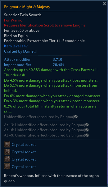 klain games carried praetor secret recent accomplishment thread tera