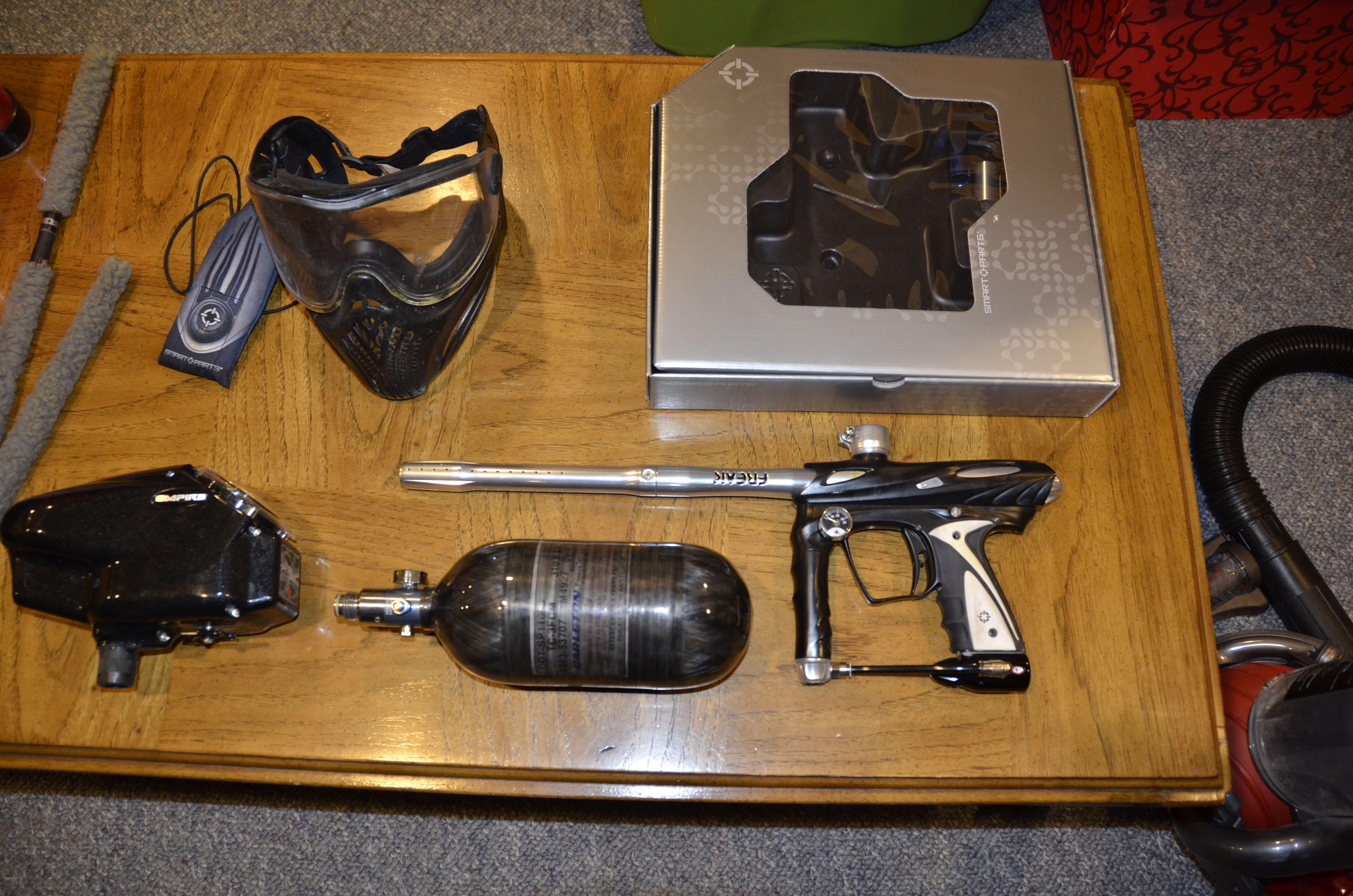 lost  marker parts smart empire include barrel tank paintball nitrogen freak eternal condom platinum 4500 trim black motorized buyer shipping request pictures carrier protector hopper original squeegee sleeve replaced drill hammer driver-- wanted accessories 3000 rounds dewalt extras o-rings condition
