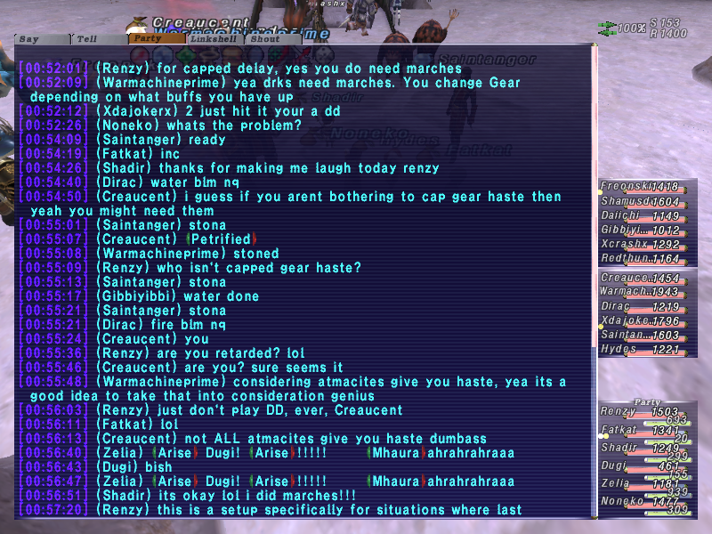renzy ffxi fail from ffxiah randomly this spotted thought screenshot pretty before fucking last xiii time talling posted sure random