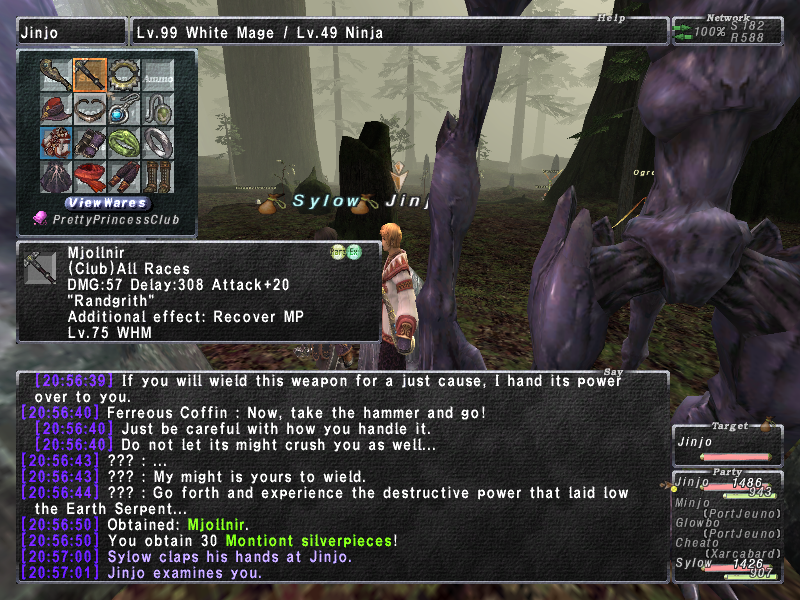 cairthenn ffxi doing this that comes love down proph also caliburn grats tool shame like prophett moirai leviathan list relicmythic weapons seems completed known time long forever
