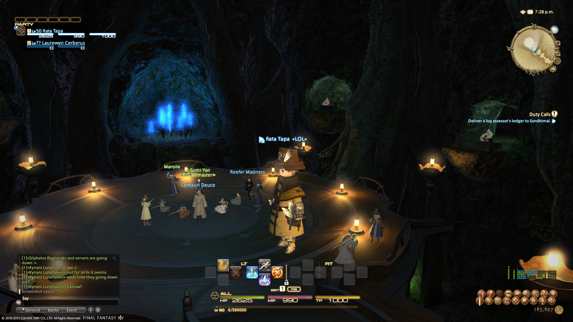 ratatapa ffxiv limsa through tonight well screenshots lifted phase beta