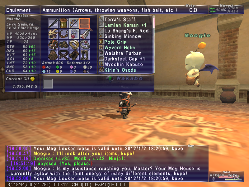 wakabo ffxi 3mdt 4pdt earring hagondes 6pdt 4mdb ring whole 10dt dark 12night 3bdt umbra 3enemy crit cape 2mdt lucked still quest abyssea gende cuffs overcapped bilaut defending could 50pdt 26mdt exactly lands 18bdt good enough capped technically sabots slipor sash stuff 3mdb artsieq meva 5pdt hose runs 2pdt retain slot during