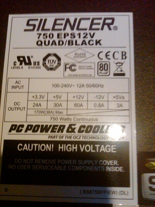 arkanna  power supply model unit certification replace case found 750w build silencer cooling april gain ship year 2010 june summer dead idle bought neweggs 2008 exact review introduced market pics quality doubting similar loss price half link outputs nvidias silver continuous rail single watts premium longer cables
