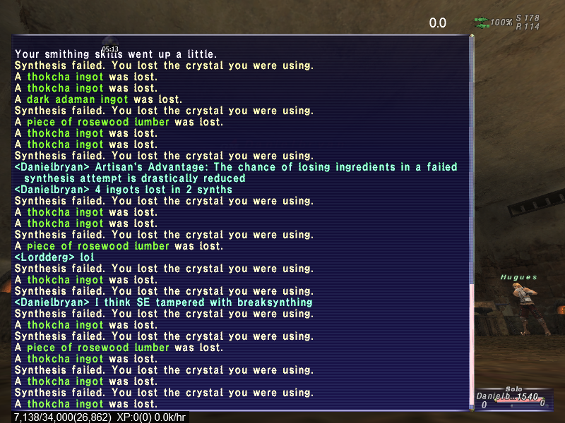 nynja ffxi person requirements long every need fulfilled alone somehow that cloth secret thread crafting question cracked both leather synergy random with another