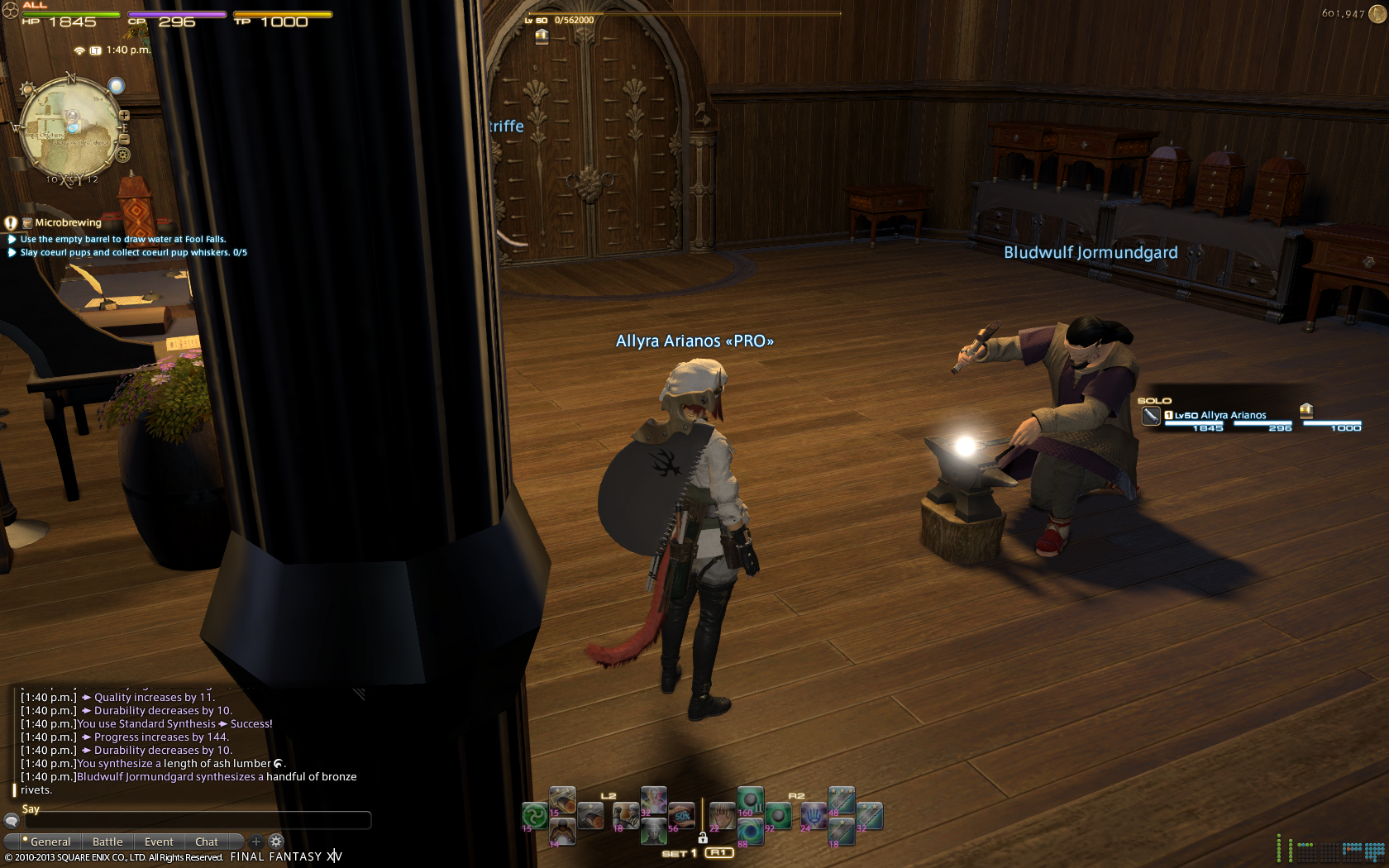 ksandra  something titans mods spam server also attack ff14