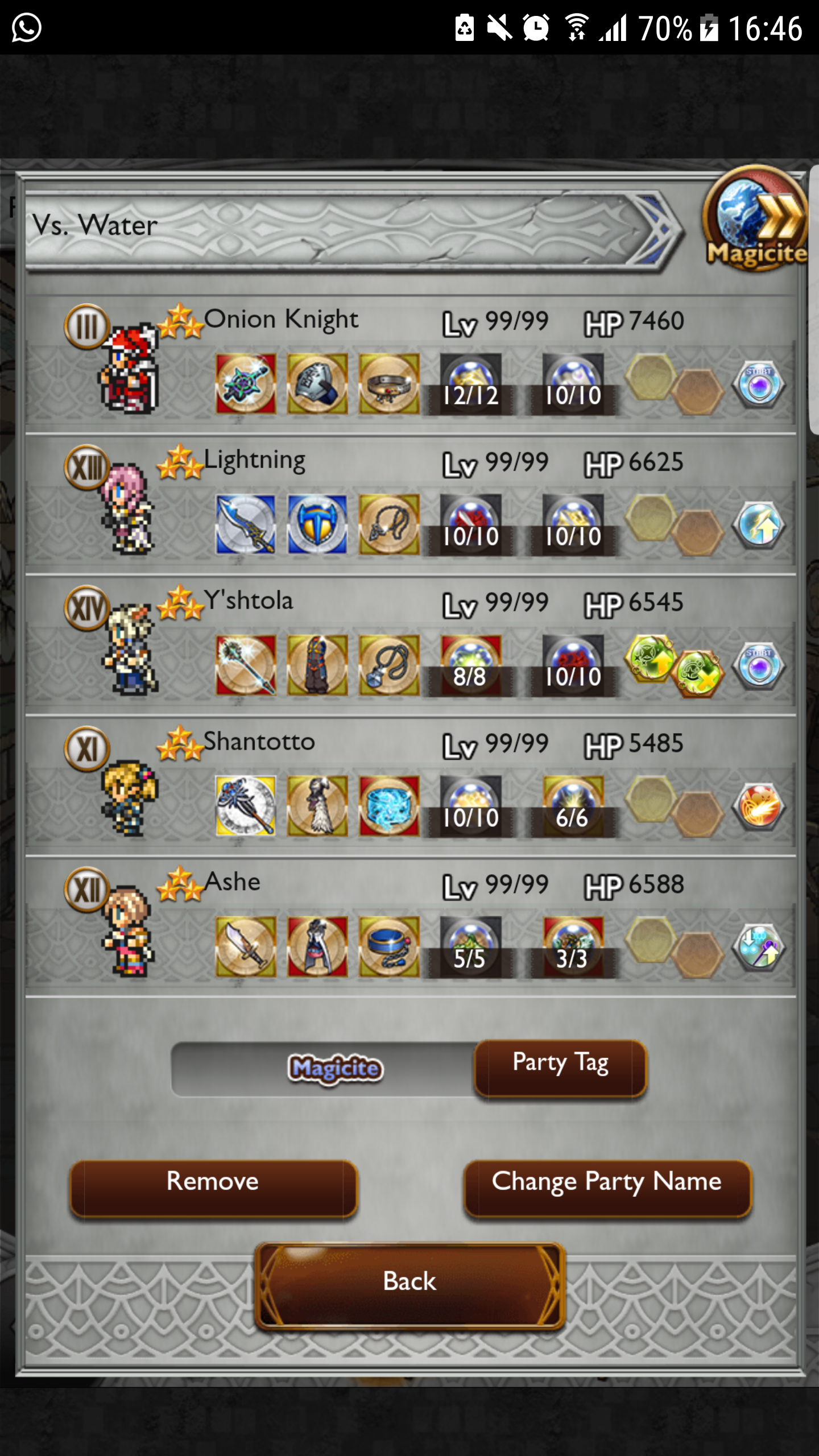 alvinho games with celes have that bring damage squall would syldra umaro gear magicite dive other only instead just from boost start chain knight chase ditch healer option onion materia laguna uses thunder element realized well edit disregard lightning ward going then spell another dampen were slot healers decently