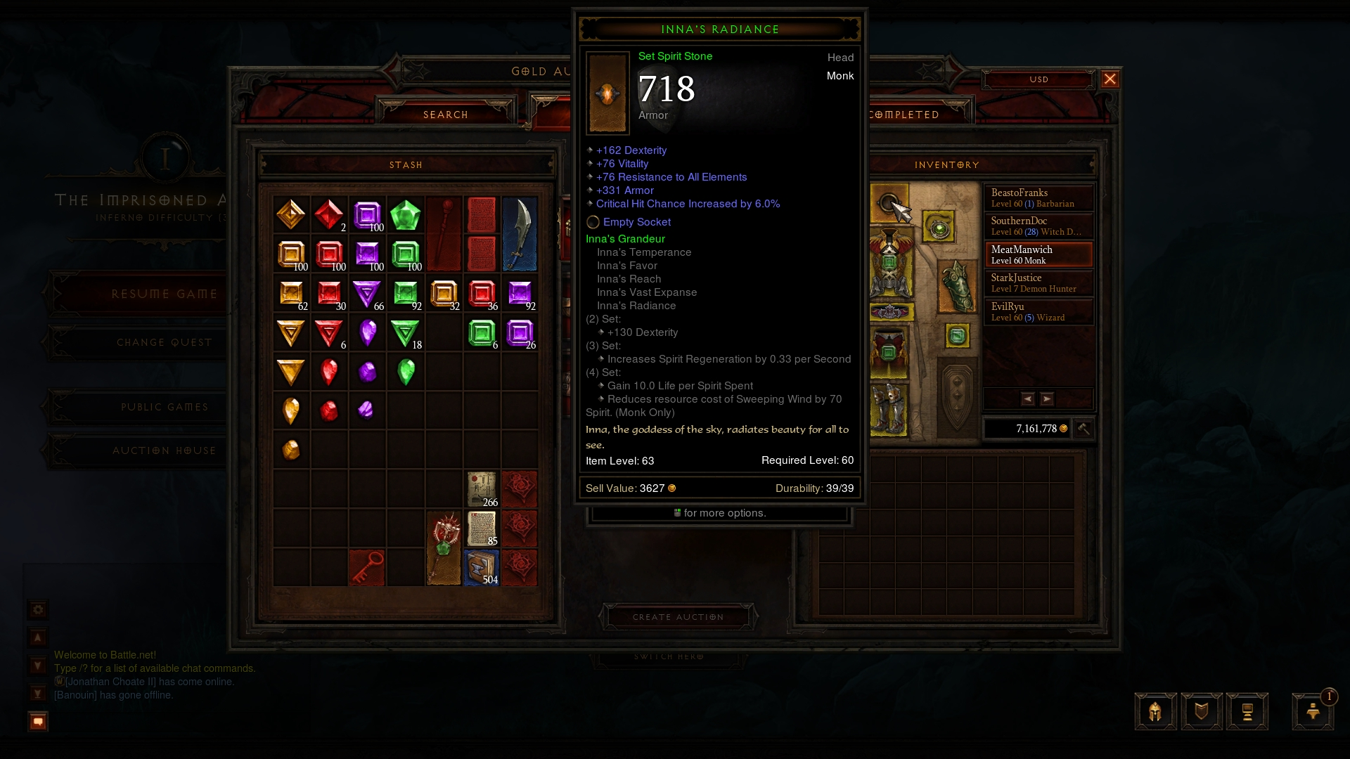 wetticus games dont peculiar know what think this just show post trading your diablo legendary