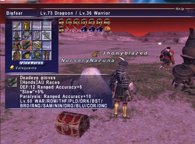 chrian ffxi gear lv78 wear stand cares leech dolls xxii thread literally player make pics renzys gimpleeches long taking shots screen point fast killing presuming lv90s contribute mobs gonna vtit listed mooch damage contribution tier this play gimpconfusedwtf contributions