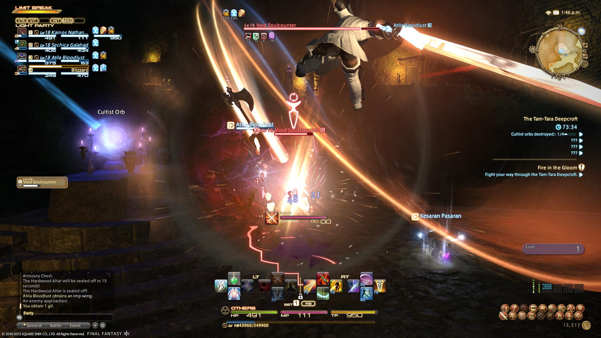 kainos ffxiv limsa through tonight well screenshots lifted phase beta