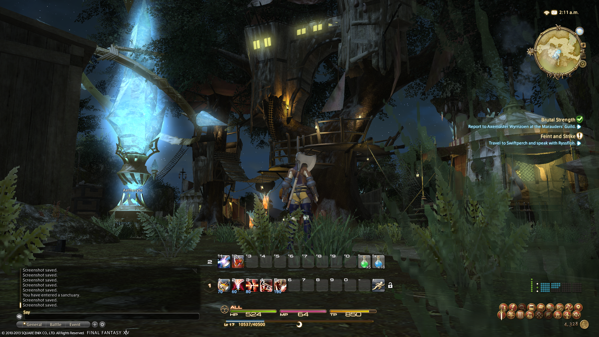 stef ffxiv limsa through tonight well screenshots lifted phase beta