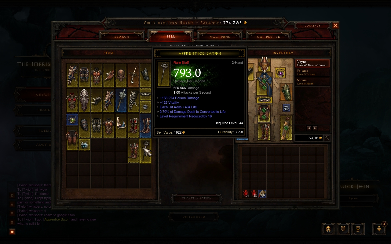 falaras games dont peculiar know what think this just show post trading your diablo legendary