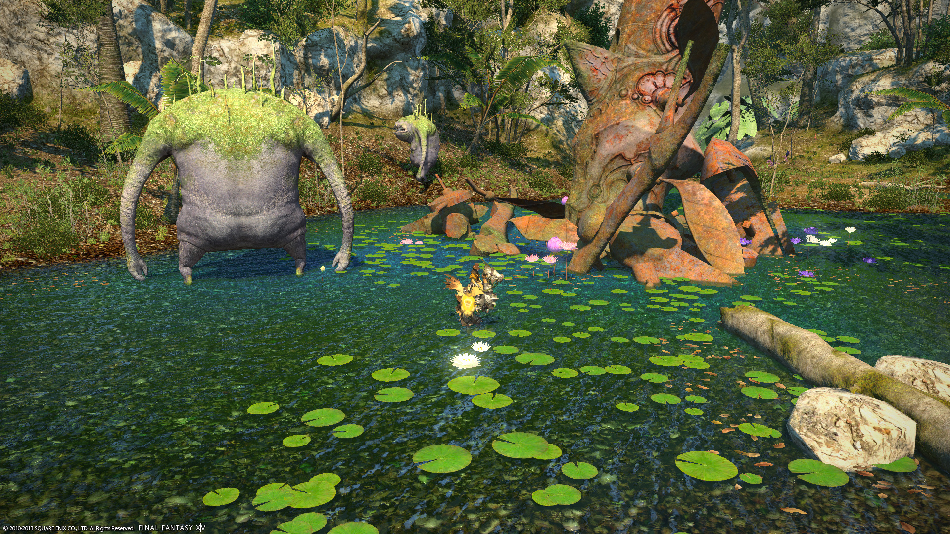 monkor ffxiv limsa through tonight well screenshots lifted phase beta