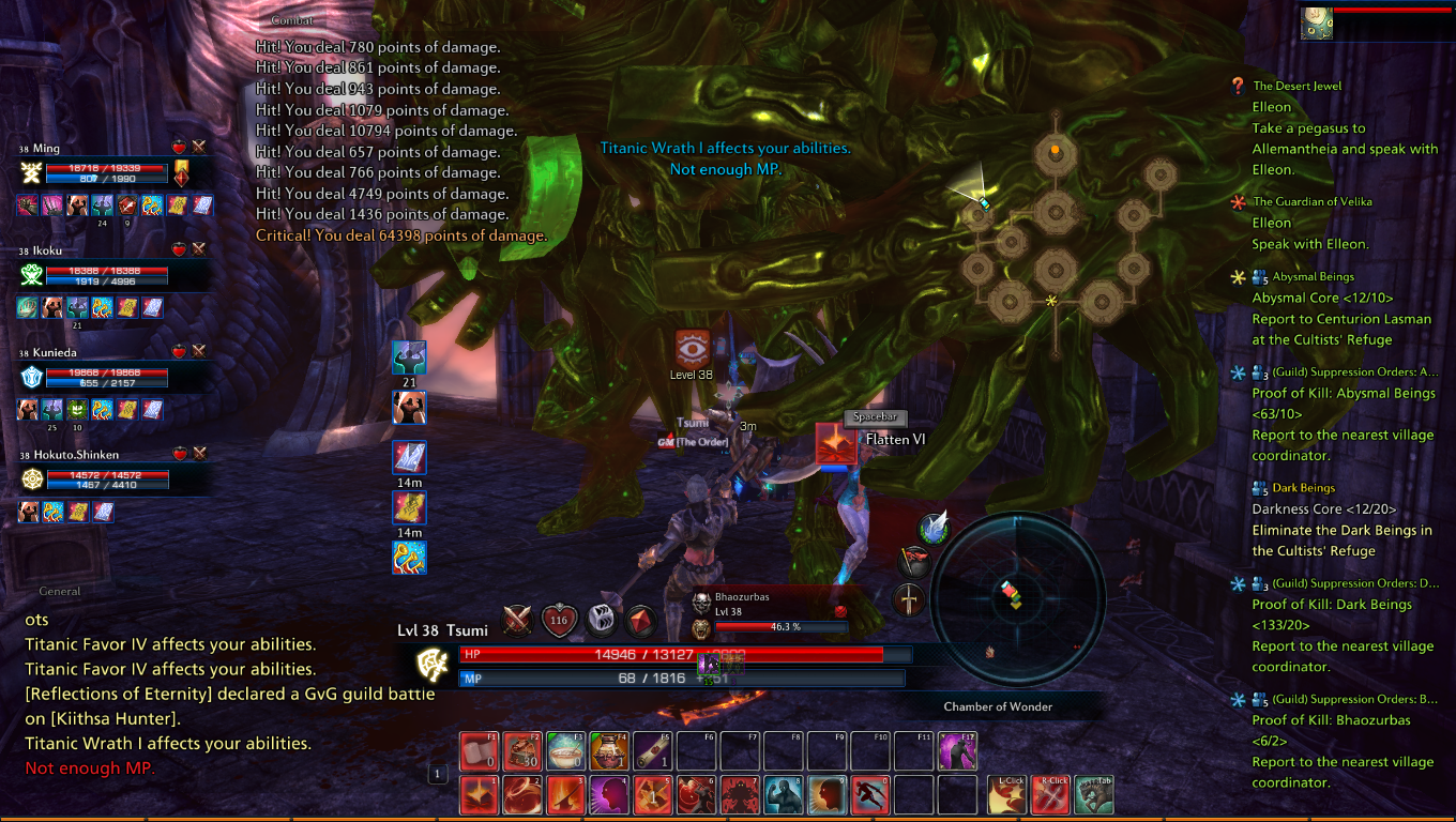 rasengan games opening gameplay trailer experience preview online media removed heres tera