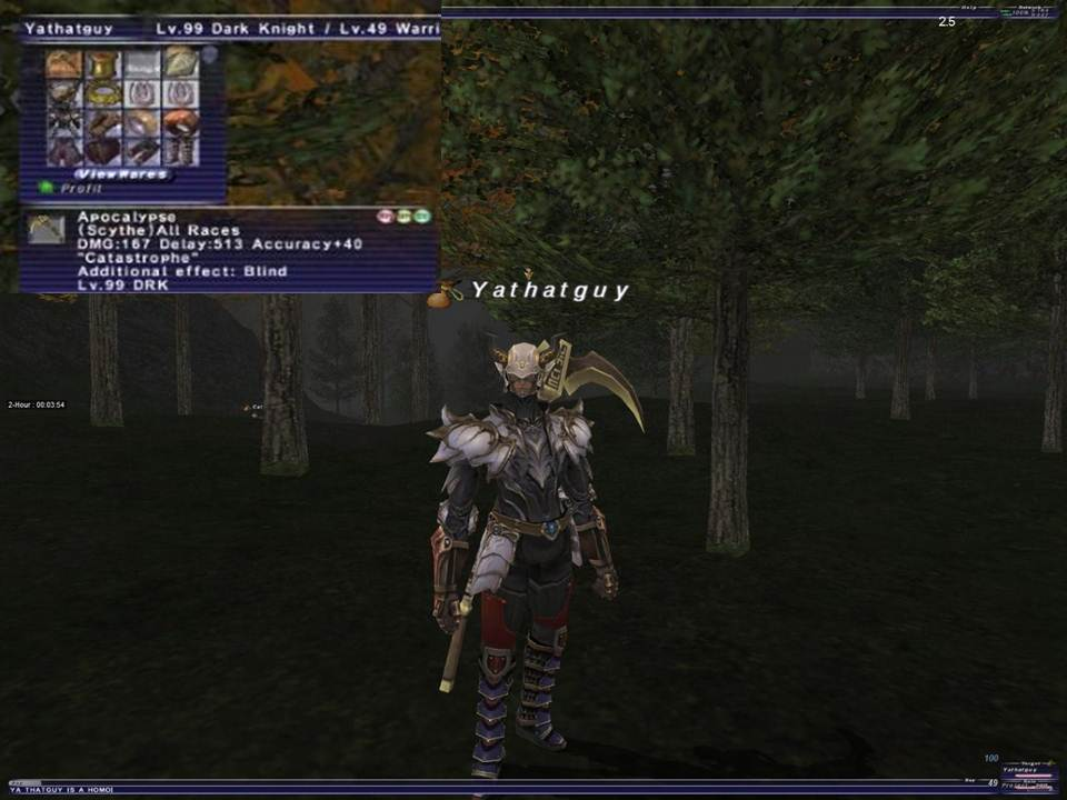 stevemc ffxi doing this that comes love down proph also caliburn grats tool shame like prophett moirai leviathan list relicmythic weapons seems completed known time long forever