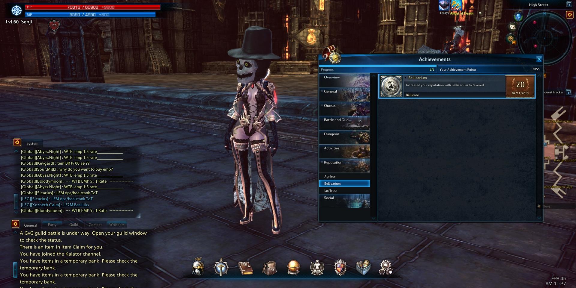 senji games carried praetor secret recent accomplishment thread tera